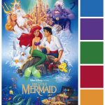 Poster Palette – The Little Mermaid