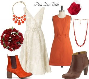 {Wedding Style} Fall Colors – Red, Orange, and Brown