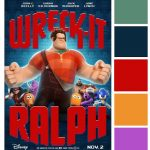 Poster Palette – Wreck-It Ralph & Sugar Rush