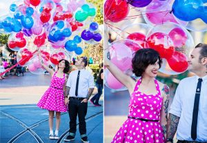 Disneyland Engagement Shoot – Lacey and Paco