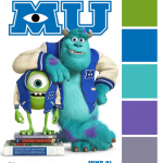 Poster Palette – Monsters University
