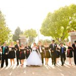 {Real Weddings} Hollie and Link's Colorful DIY Wedding