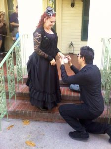 A Haunted Mansion Proposal