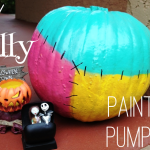 DIY Sally Painted Pumpkin