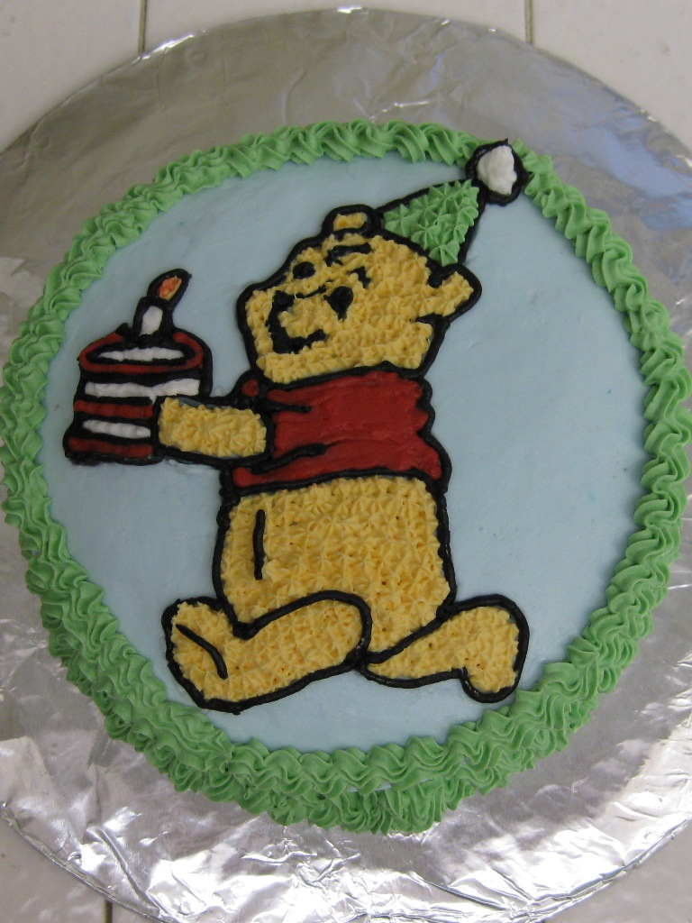 Winnie The Pooh Cake - Inspired By Dis