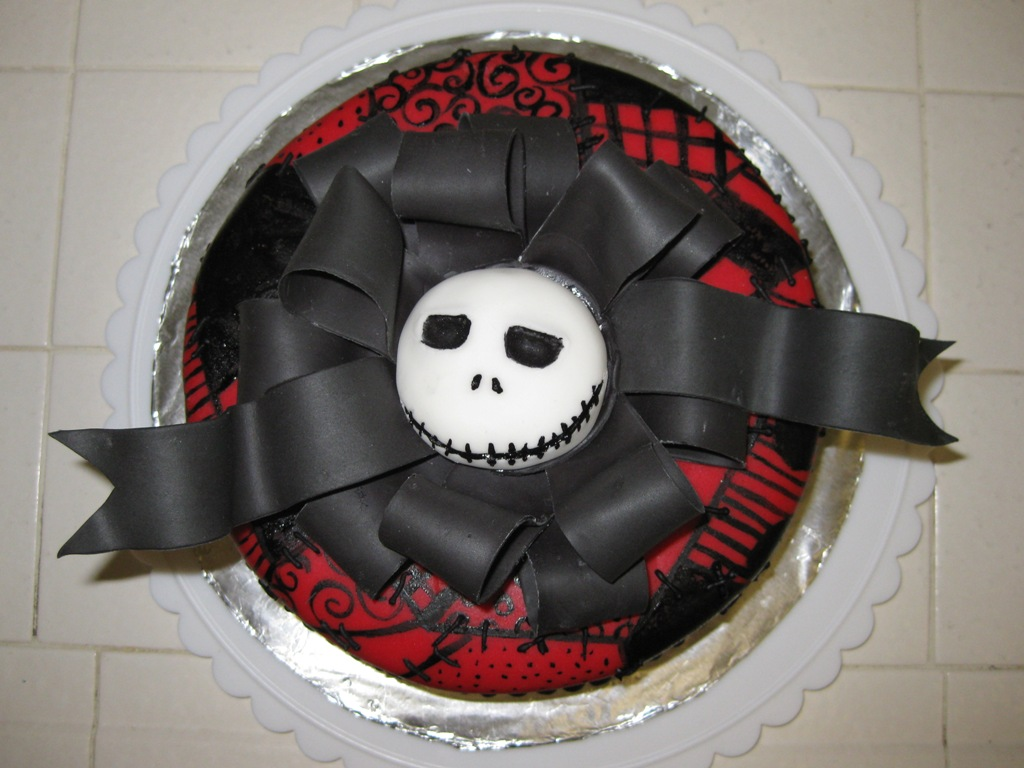 Nightmare Before Christmas cake - Inspired By Dis
