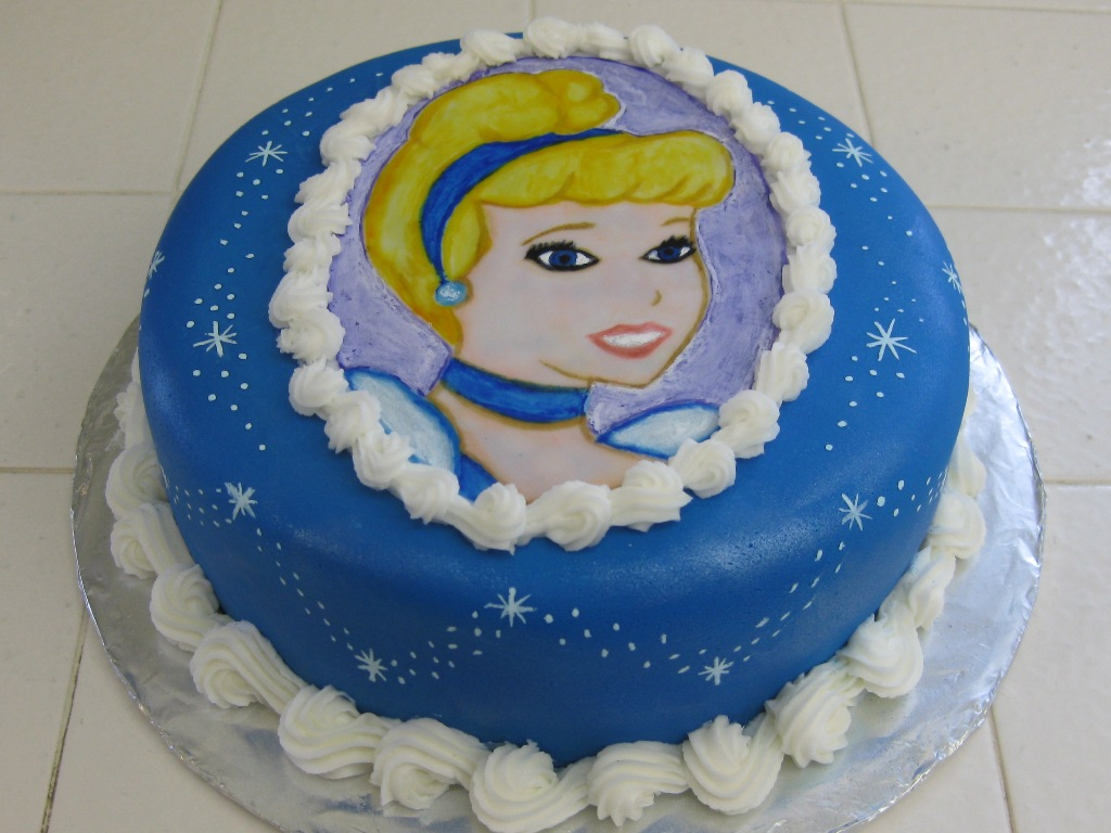 Cinderella Cake - Inspired By Dis