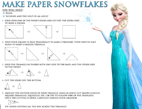Free Frozen Snowflake Template - Inspired By Dis