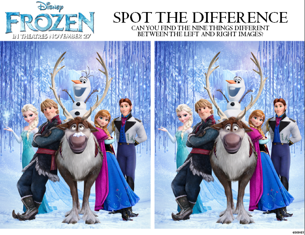 Free Frozen Printables - Inspired By Dis