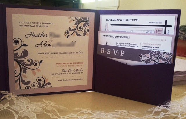 Ask a disney bride do we still invite guests who already told us disney wedding invitation stopboris Images