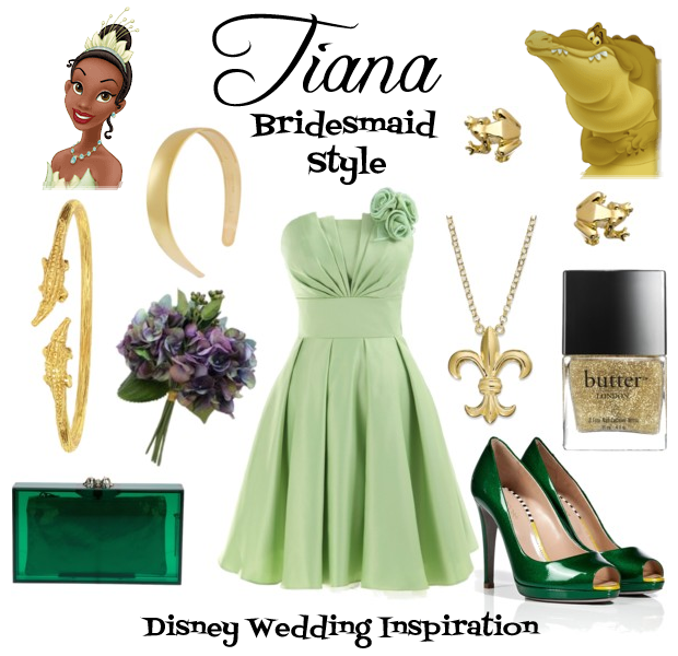 Tiana Bridesmaid Style Board - This Fairy Tale Life