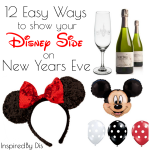 12 Easy Ways to Show Your Disney Side on New Years Eve