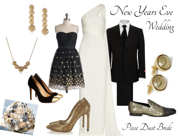 {Wedding Style} New Years Eve Wedding