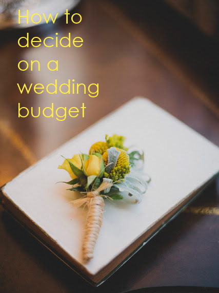 How to decide on a wedding budget // Pixie Dust Bride