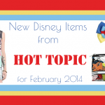 New Disney Items from Hot Topic for February 2014