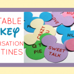 Printable Mickey Conversation Valentines
