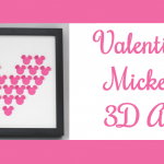 Valentine Mickey 3D Art