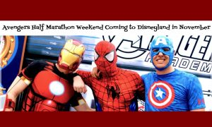 New Avengers Half Marathon at Disneyland Resort November 2014