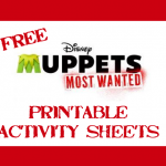 Free Muppets Most Wanted Printable Activity Sheets
