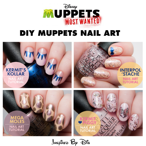 DIY Muppets Nail Art From OPI And MUPPETS MOST WANTED Inspired By Dis