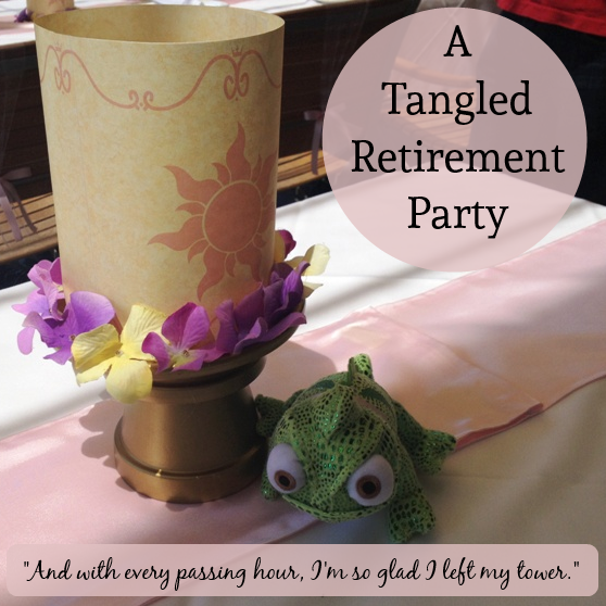 A Tangled Retirement Party // Inspired By Dis