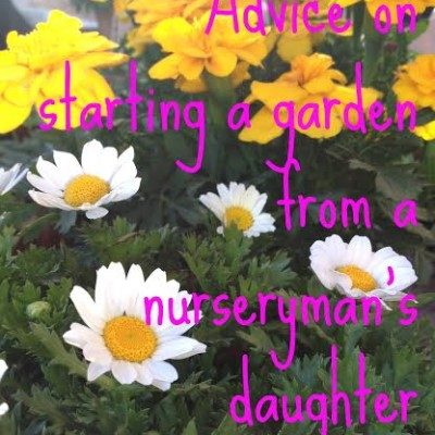 Advice on Starting a Garden from a Nurseryman's Daughter