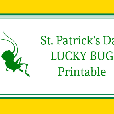 Lucky Bug Printable
