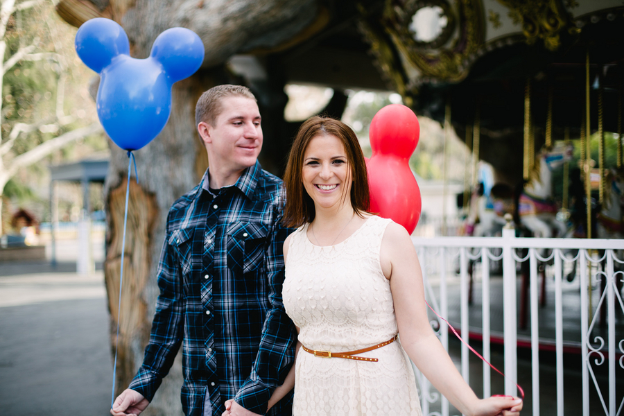 At-Home Disney Themed Engagement Session // Photography by Crystal Shreeve Photography //