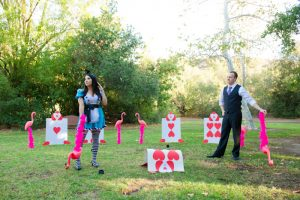 Paty and Travis' Mad Tea Party Engagement Photos