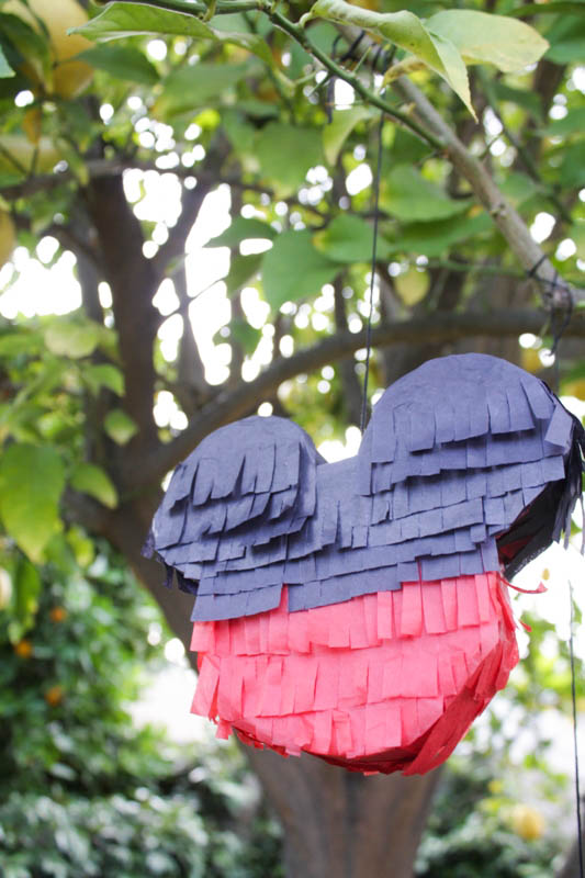 DIY Mickey Mouse Pinata // Inspired By Dis