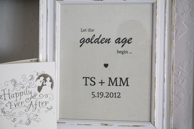 2nd Wedding Anniversary Cotton Gifts: DIY Cotton Printable Sign
