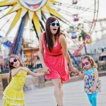 A Colorful Disney California Adventure Family Session