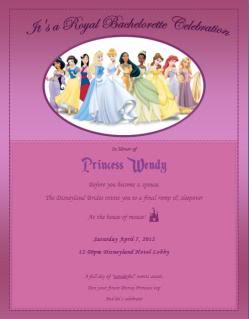 Wendy's Magical Disneyland Bachelorette Party - This Fairy ...