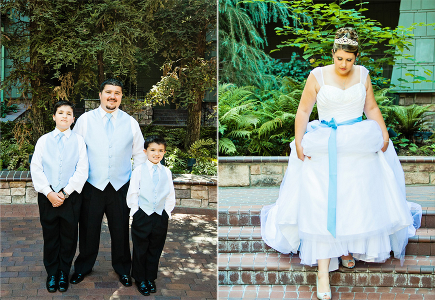 Disneyland Vow Renewal // White Rabbit Photo Boutique