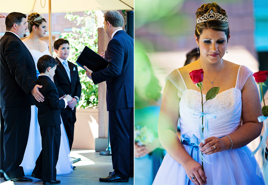 Vow Renewal at Disneyland // White Rabbit Photo Boutique
