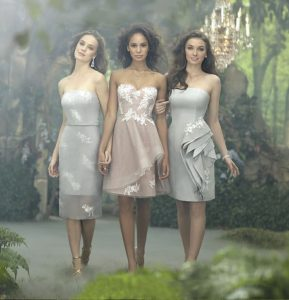 2014 Disney Maiden Bridesmaid Dresses from Alfred Angelo