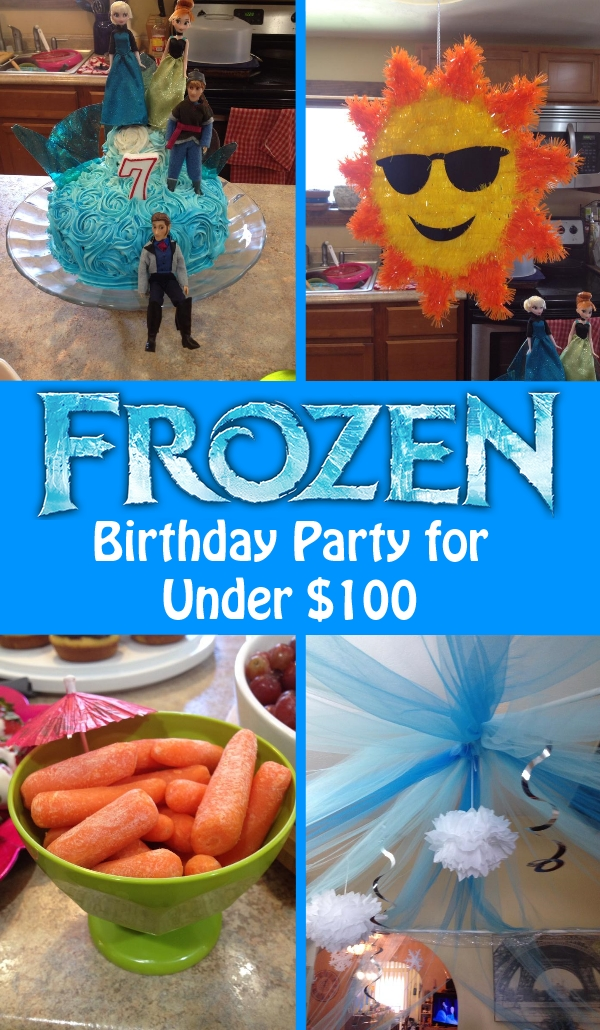 = Frozen Birthday Party for Under $100  This Fairy Tale Life