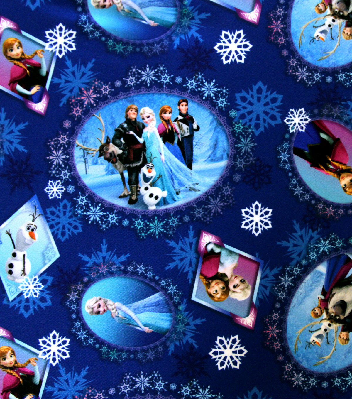 Frozen Scenes Fabric from Joann Fabric and Crafts