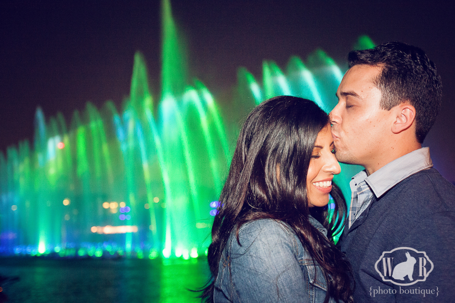 Gina and Richard's World of Color Engagement Photos - White Rabbit Photo Boutique