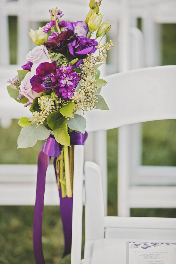 Majestic Purple Disneyland Wedding - White Rabbit Photo Boutique