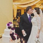 Rachel and Michael's Majestic and Purple Disneyland Wedding