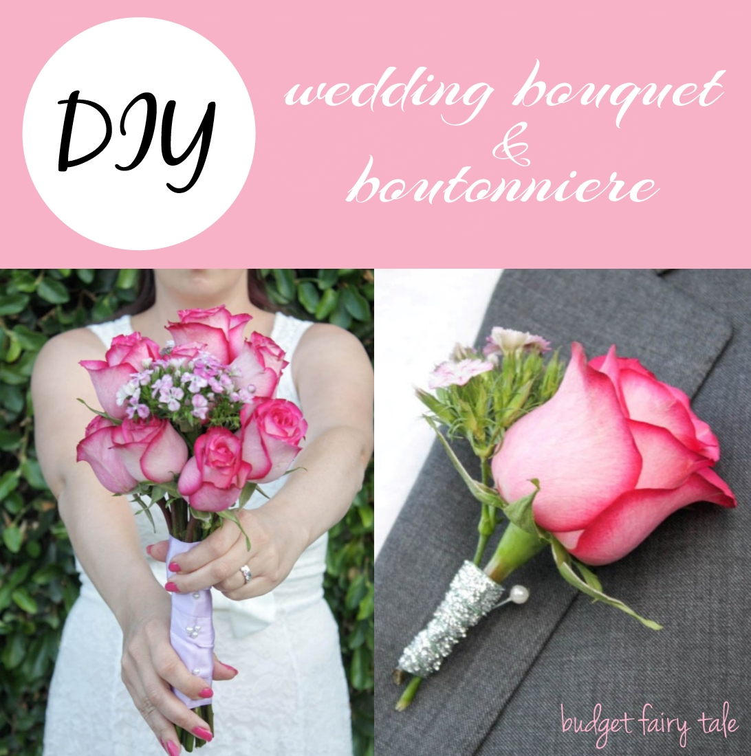 build a wedding bouquet diy wedding bouquet and boutonniere this tale 2108