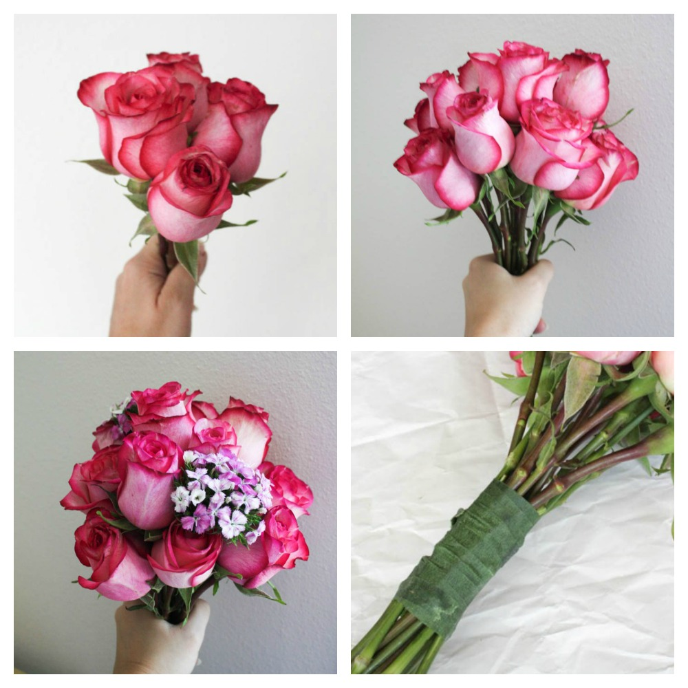 Diy wedding bouquet and boutonniere this fairy tale life diy wedding bouquet and boutonniere izmirmasajfo