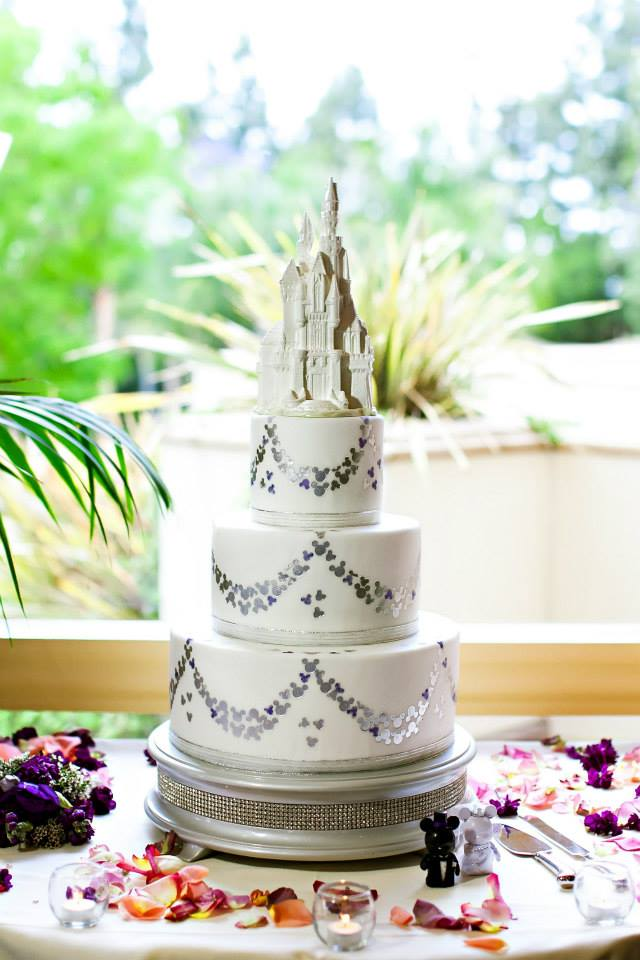 Melt Down Your White Chocolate Castle Wedding Cake Topper And Make Fondue Photo Credit
