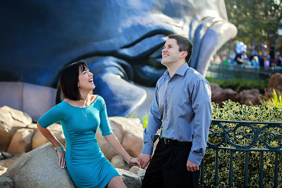 Disneyland Engagement Photos // White Rabbit Photo Boutique