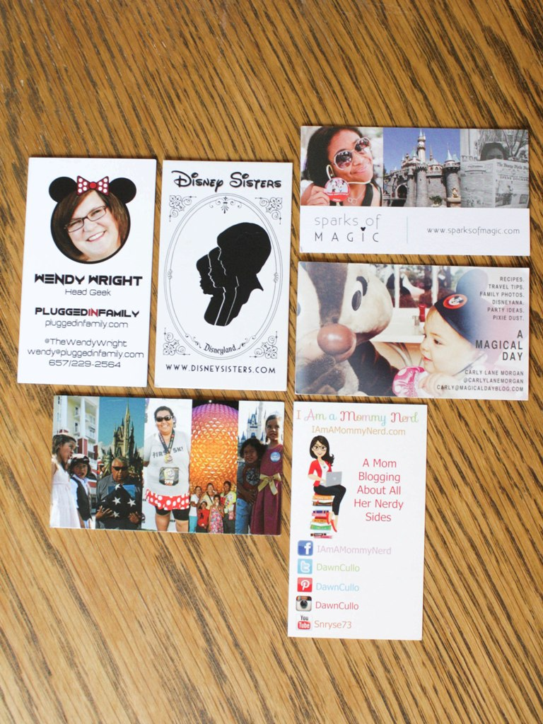 The best business cards from disney social media moms this fairy best business cards disneysmmoms disney colourmoves