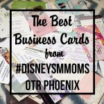 The Best Business Cards from Disney Social Media Moms