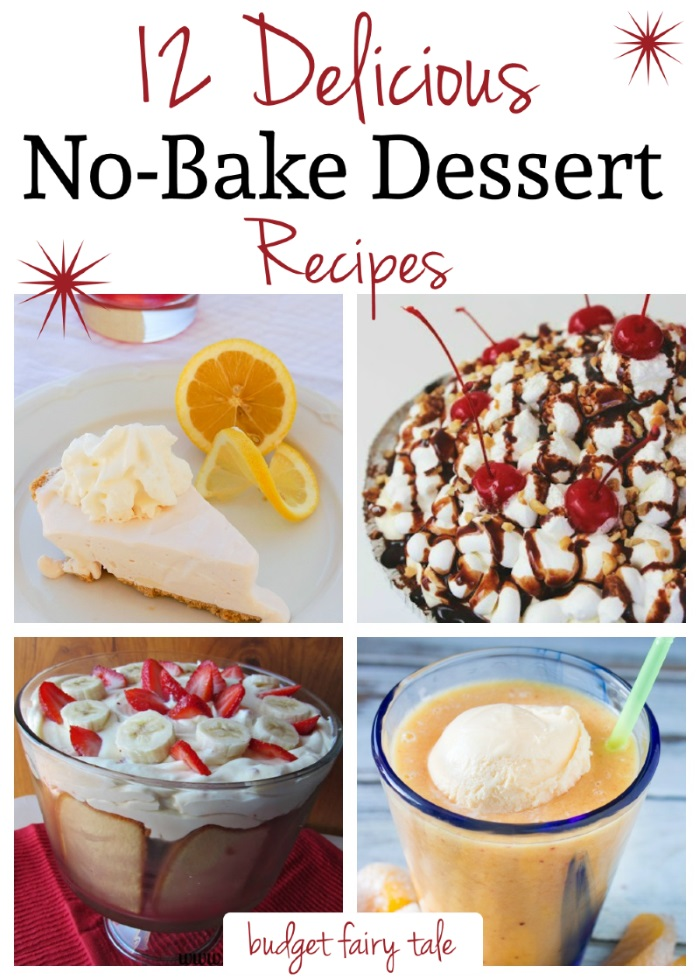 12 no bake dessert recipes this fairy tale life 12 no bake dessert recipes budget fairy tale forumfinder Choice Image