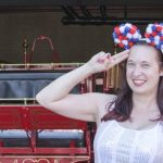 DIY Red, White, and Blue Mickey Ears