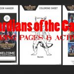 Guardians of the Galaxy Coloring Pages and Activities